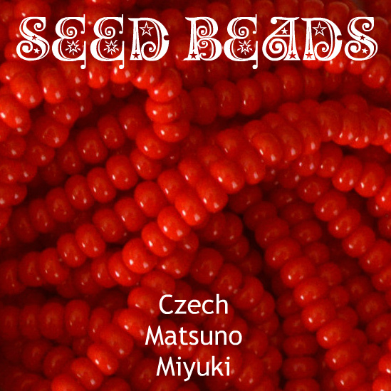 Seed beads. Czech, Matsuno, Miyuki.