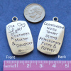 Mother/Daughter Pendant Set, 34x20mm