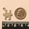 Puzzle Piece Charm, Pack of 12