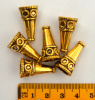 Cone, Gold Color, 23x13mm, 2pc or 6pc