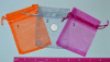 "Organza Bags - 3x4"" - your choice of color for a 10 pack"