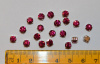 Rose Montees, Fuchsia, 4.6mm, Package of 20 or 100