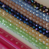 6mm CZECH Fire Polished Beads - Lusters and Iris, choice of color