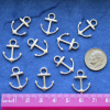 Anchor Charms, pack of 10