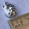Bulldog Face charms - Package of 10