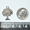 Tree of Life Charm - Antique Silver - Pack of 12
