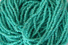 Opaque LUSTER - Turquoise Green Czech 11/0 Seed Beads